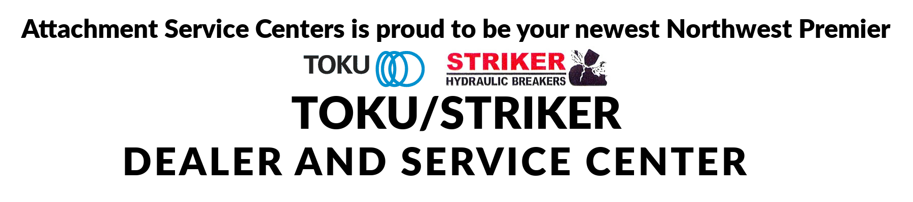 ASC is proud to be a Toku / Striker Dealer and Service Center