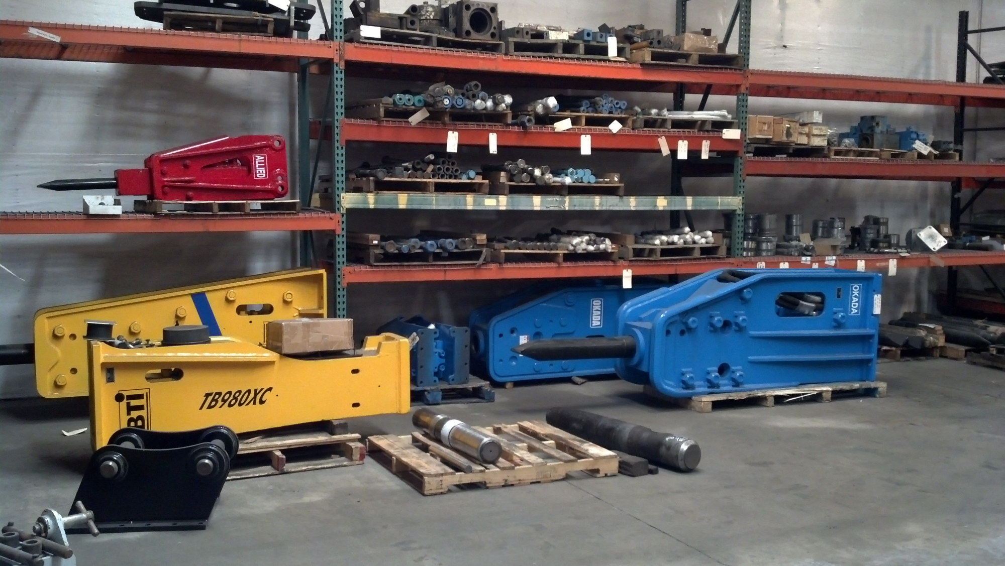 Hydraulic Attachment sales and repair facility