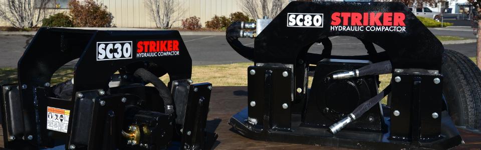 Striker Compactors at Attachment Service Centers